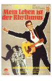 King Creole, German Movie Poster, 1958 Prints