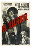The Informer, Argentine Movie Poster, 1935 Print
