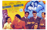 The Philadelphia Story, Spanish Movie Poster, 1940 Poster
