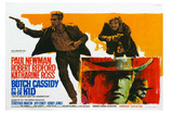 Butch Cassidy and the Sundance Kid, Belgian Movie Poster, 1969 Prints