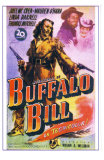 Buffalo Bill, Spanish Movie Poster, 1944 Pósters