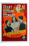 The Philadelphia Story, Swedish Movie Poster, 1940 Photo