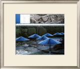 The Blue Umbrellas, 1991 Prints by  Christo