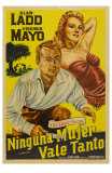 The Iron Mistress, Argentine Movie Poster, 1952 Posters