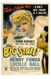 The Big Street, 1942 Print