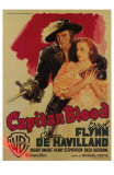 Captain Blood, Italian Movie Poster, 1935 Photographie