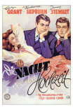The Philadelphia Story, German Movie Poster, 1940 Print