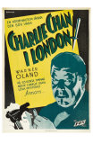 Charlie Chan in London, Swedish Movie Poster, 1934 Posters