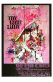 My Fair Lady, Italian Movie Poster, 1964 Bilder