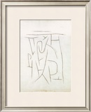 Fragments of the Area from Long Ago, c.1937 Print by Paul Klee