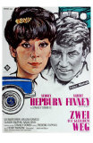 Two for the Road, German Movie Poster, 1967 Poster