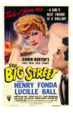 The Big Street, 1942 Poster