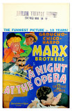 A Night At The Opera, 1935 Print