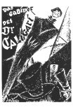 The Cabinet of Dr. Caligari, German Movie Poster, 1919 Poster