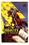 Don Quixote, Spanish Movie Poster, 1934 Affiches