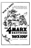 Duck Soup, 1933 Photo