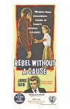 Rebel Without a Cause, Australian Movie Poster, 1955 Prints