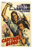 Captain Blood, German Movie Poster, 1935 Prints