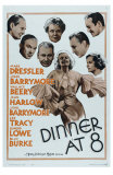 Dinner at Eight, 1933 Poster