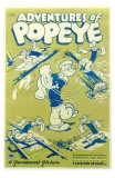 Adventures of Popeye, 1935 Posters