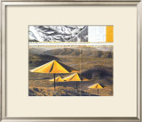 The Yellow Umbrellas, 1991 Posters by Christo