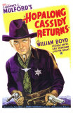 Hopalong Cassidy Returns Prints