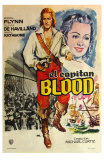 Captain Blood, Spanish Movie Poster, 1935 Posters
