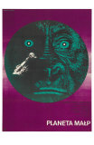 Planet of the Apes, Polish Movie Poster, 1968 Psters