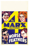 Horse Feathers, 1932 Poster