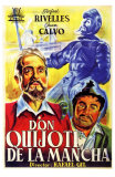 Don Quixote, Spanish Movie Poster, 1934 Julisteet