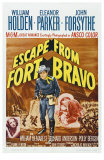 Escape from Fort Bravo, 1953 Print