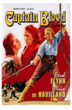 Captain Blood, Swedish Movie Poster, 1935 Posters