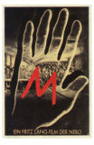 M, German Movie Poster, 1931 Photographie