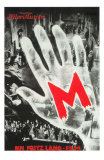 M, German Movie Poster, 1931 Prints