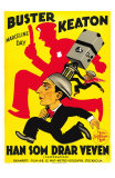 The Cameraman, Spanish Movie Poster, 1928 Posters
