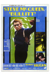 Bullitt, Italian Movie Poster, 1968 Photo