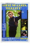 Bullitt, Italian Movie Poster, 1968 Photo