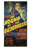 The Hound of The Baskervilles, 1939 Print