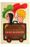 Two for the Road, Polish Movie Poster, 1967 Posters