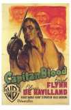 Captain Blood, Italian Movie Poster, 1935 Prints