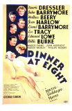 Dinner at Eight, 1933 Posters