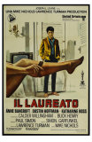 The Graduate, Italian Movie Poster, 1967 Print