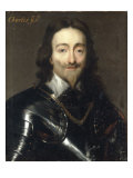 Portrait of Charles I Giclee Print by Sir Anthony Van Dyck