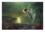 Espíritu de la noche, 1879 Lámina giclée por John Atkinson Grimshaw