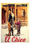 The Kid, Spanish Movie Poster, 1921 Prints