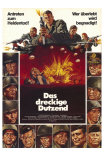 The Dirty Dozen, German Movie Poster, 1967 Prints