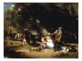 The Woodman's Dinner Hour Prints by William Frederick Witherington