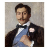 Portrait of the Duc Armand De Guiche Giclee Print by Franz Charlet
