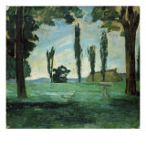 Paysage Giclee Print by Paul Cézanne