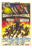 The Dirty Dozen, Italian Movie Poster, 1967 Posters